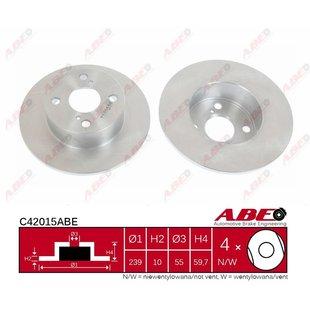 Bremsscheibe ABE C42015ABE, 1 Stück