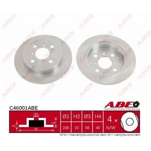 Bremsscheibe ABE C46001ABE, 1 Stück