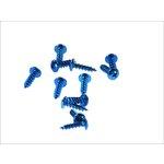 Schrauben Set 6x20 12 Stück blau