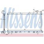Chladič motoru Nissens 67705A