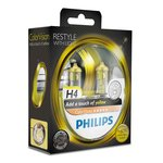 Glühlampe PHILIPS H4 (12V 60/55W) ColorVision Yellow 2 Stück