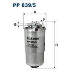 Kraftstofffilter FILTRON PP839/5