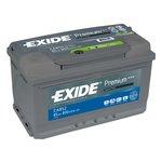 Autobaterie EXIDE Premium 12V 85Ah 800A, EA852