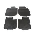 POLGUM Gumové koberce, sada 4 ks, černé, pro vozy Dacia Duster, Logan, Sandero, Toyota RAV4