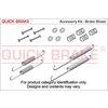 Zubehörsatz, Bremsbacken QUICK BRAKE 105-0849