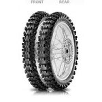 Off Road Reifen Pirelli 110/90 - 19 62M NHS Scorpion MX Mid Soft 32 hinten