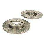 Hochleistungs-Bremsscheibe SPEEDMAX 5201-01-0224PTUOTUV