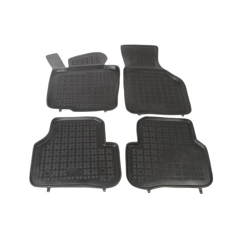 REZAW-PLAST Gumové koberce, 4 ks (2+2), pro vozy typu VW Jetta, Passat, Variant, Alltrack a Tiguan