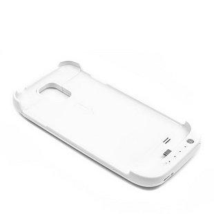 Externer Akku für Samsung I9500 S4  – weiß, 3200mAh