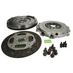 Kupplungssatz VALEO 4KKit (3-Komponenten-Kit + starre Schwungrad) 835055