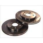 Bremsscheiben, 2 Stück DELPHI BG4190