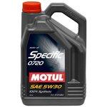 Motoröl MOTUL Specific 0720 5W30, 5 Liter