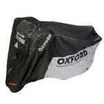 Motorrad wasserdichter Bezug OXFORD Rainex L silber