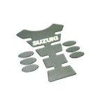 Kraftstofftank-Aufkleber Tank-Pad BIKE IT carbon Suzuki