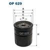 Ölfilter FILTRON OP629