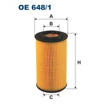 Ölfilter FILTRON OE648/1