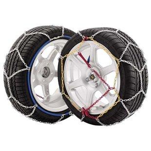 JOPE Sněhové řetězy E9/100, křížový vzor, 1 pár, pro osobní vozidla