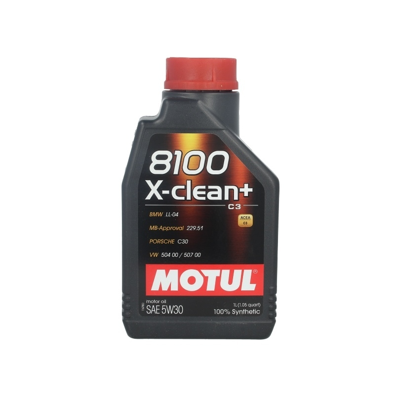 motor l motul 8100 x clean 5w30 1 liter audi bmw opel. Black Bedroom Furniture Sets. Home Design Ideas