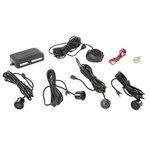 M-TECH Parkovací asistent, zadní, barva černá, průměr senzorů 18 mm, akustický signál