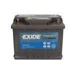 Autobaterie EXIDE Premium 12V 64Ah 640A, EA640