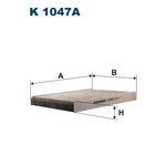 Innenraumfilter FILTRON K1047A