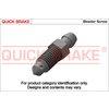 Entlüfterschraube/-ventil, Radbremszylinder QUICK BRAKE 0019