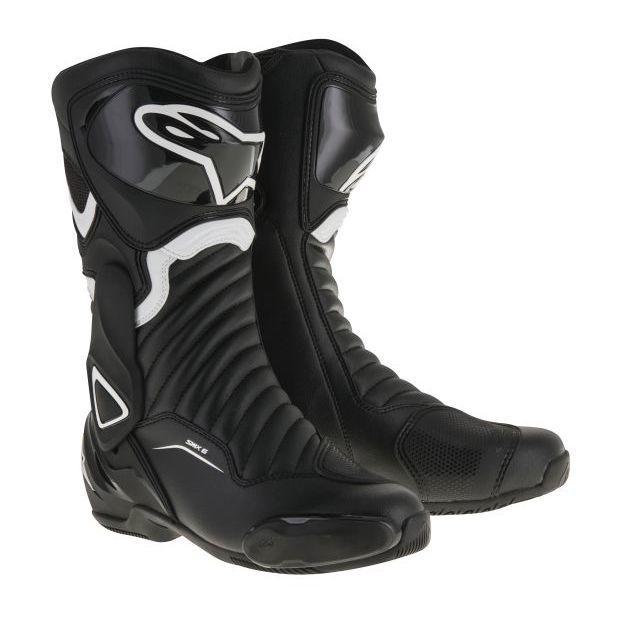 Motorrad Stiefel, Alpinestars SMX 6, schwarz, Gr. 44