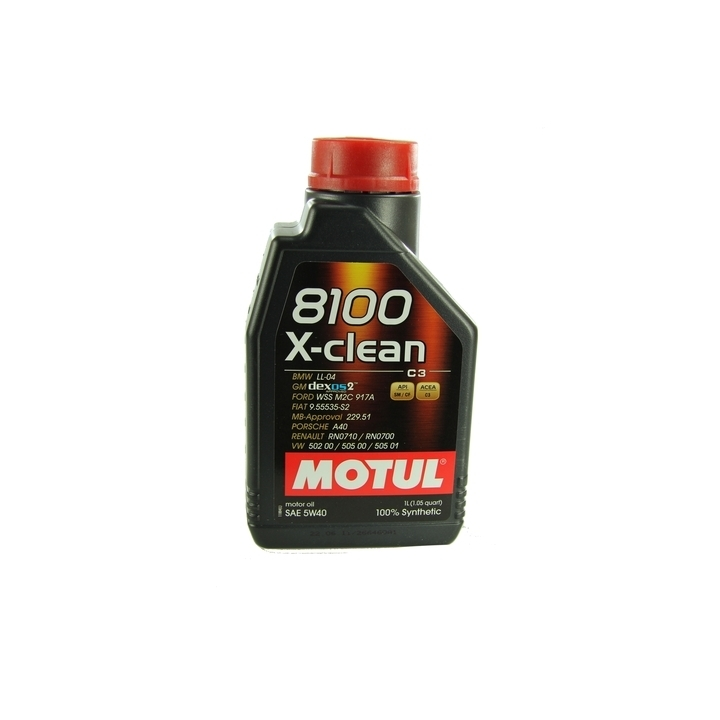 motor l motul 8100 x clean 5w40 1 liter audi bmw opel. Black Bedroom Furniture Sets. Home Design Ideas