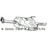 Zadní tlumič výfuku BOSAL BOS185-155