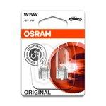 Glühlampe OSRAM W5W 2 Stück