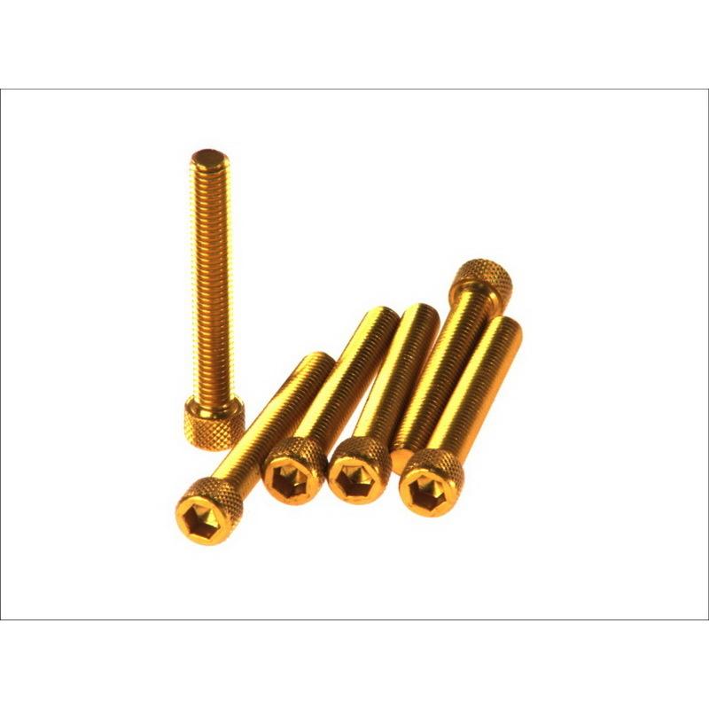 6-kantschraube M8x50 gold