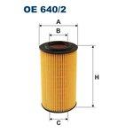 Ölfilter FILTRON OE640/2