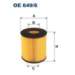 Ölfilter FILTRON OE649/6
