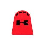 Kraftstofftank-Aufkleber Tank-Pad BIKE IT Kawasaki rot