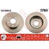 Bremsscheibe, 1 Stück TRW DF4885S
