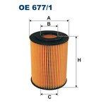 Ölfilter FILTRON OE677/1