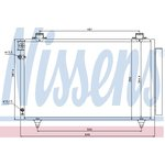 Klimakühler, Klimaanlage NISSENS NIS 940081