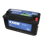 Autobaterie EXIDE Excell 12V 85Ah 760A, EB852