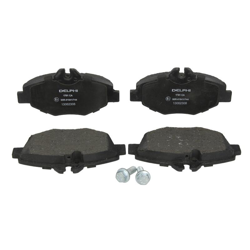 DELPHI Bremsbelagsatz Scheibenbremse   für Mercedes-Benz E-Klasse C-Klasse