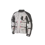 Textiljacke ADRENALINE SWEEP GRAND TOURING  schwarz/grau Größe M