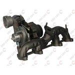 Turbolader KKK 54399880022/R Austauschprodukt