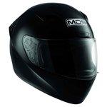 Integralhelm MDS M13 schwarz glanz M