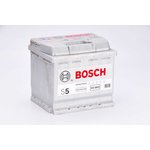 Autobaterie BOSCH Silver S5 12V 54Ah 530A, 0 092 S50 020