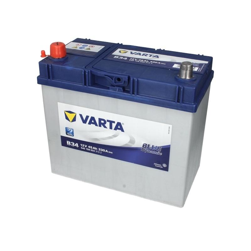 Autobaterie VARTA Blue Dynamic 12V 45Ah 330A, 545 158 033