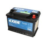 Autobaterie EXIDE Excell 12V 74Ah 680A, EB740