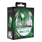 Glühlampe PHILIPS H4 (12V 60/55W) ColorVision Green 2 Stück