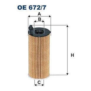 Ölfilter FILTRON OE672/7A