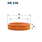 Vzduchový filtr FILTRON AR 238