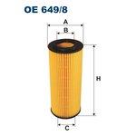 Ölfilter FILTRON OE649/8