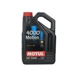 Motoröl MOTUL 4000 Motion 15W40, 5 Liter